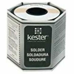 Kester 24 6337 0027 Parts Accessories Solder Roll Core Size 66 63 37 Alloy