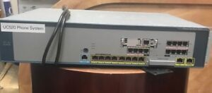 Cisco Uc520 System Including Ip740s Ip7911s Ip791 Phones