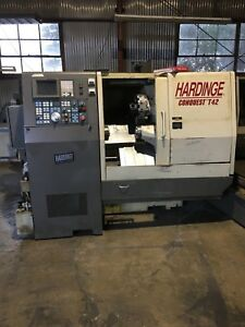 21 2 Swg 13 9 Cc Hardinge Conquest T 42 Sub Spindle Live Tooling