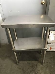 Maltese And Co Stainless Steel Prep Table