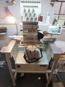 Brother Bas 416 Commercial Embroidery Machine With Cap Driver Software
