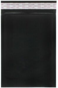 Jam Paper Bubble Lite Padded Mailers 0 6 X 8 1 2 Black Kraft 25 pack