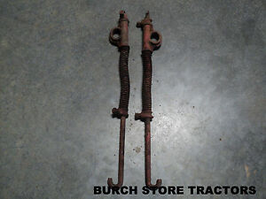 Official Ih Farmall Cub Back Rear Cultivator Spring Lift Rods