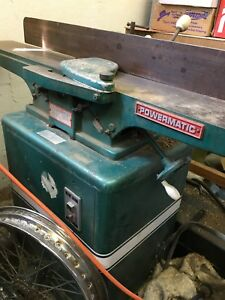 6 Powermatic Houdaille Model 50 Jointer