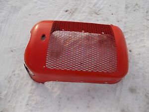 Allis Chalmers C Tractor Excl Original Factory Ac Front Nose Cone Grill W screen