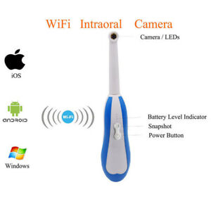 Hd Dental Intraoral Wireless Wifi Oral Camera For Phone Android Windows Pc