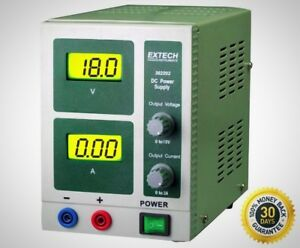 Instruments 18 volt Dc Power Supply 3 amp For Mike B Dual Backlit Lcd Displays