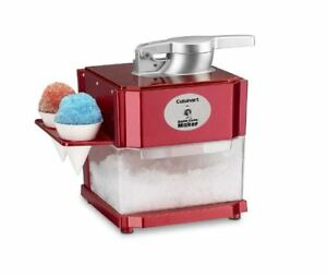 Snow Cone Maker Electric Ice Machine Crusher Shaving Shaver Cold Icy Drink