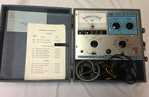 B k Cathode Ray Tube Tester Model 465 W Instructions