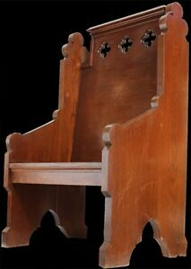Vintage Gothic Deacon S Chair Free Shipping Freight