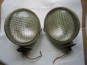 2 Vintage 6 Tract O Lite Ford Tractor Headlamps Headlights Ratrod Hotrod
