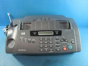 Hp 1040 Inkjet Plain Paper Fax Machine With Built in Telephone Scan