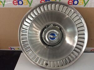 14 Ford 64 65 Galaxie Turbine Spinner Hubcaps Wheel Cover