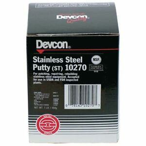 Devcon 10270 1 Lb Stainless Steel Putty