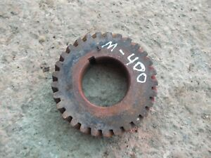 Farmall Ih M Sm 400 450 Tractor Gas Engine Motor Crank Crankshaft Drive Gear
