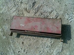 Farmall Ih 1066 Tractor Original Ihc Side Mount Tool Box