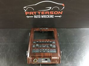 2011 Ford Pickup F150 Radio Stereo 8 Touch Screen Control Panel Woodgrain