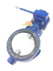 Keystone 8 Butterfly Valve Cast Iron With 316 Ss Disc Stim Epdm Seat