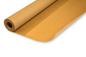 Multipurpose Use Brown Kraft Wrapping Paper Roll Recycle Materials