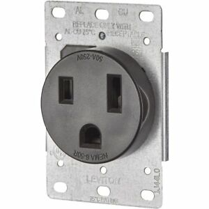4 Pack Leviton Welder Power Outlet 50a