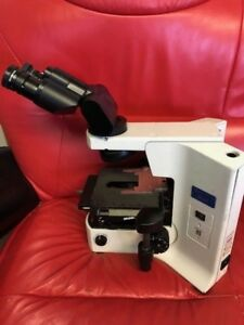 Olympus Microscope Bx41 With Tilting Head