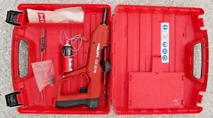 Hilti Dx E72 Powder Actuated Tool Fastener Nail Gun