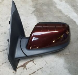 2011 2012 2013 2014 Ford Edge Limited Driver Side View Mirror Maroon Cinnamon