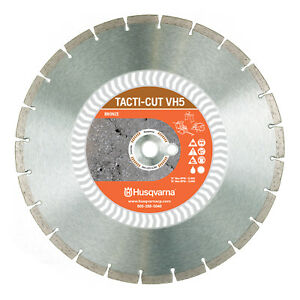 Husqvarna Vh5 14 Segmented Diamond Blade Model 542774463 new