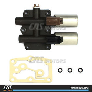 Transmission Dual Linear Solenoid For 03 09 Acura Mdx Rdx Tl Honda Accord Pilot