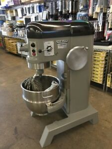 Refurbished Hobart H 600t 60 Qt Mixer W Hook Flat Beater Whip