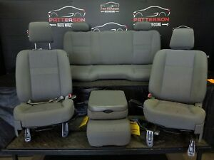 2007 Dodge Ram Pickup 1500 Front Rear Cloth Seat Set Interior Trim Code V9d5