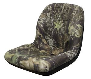 Milsco Xb180 Camo Seat Fits John Deere Gators And Mowers Toro Scag Etc