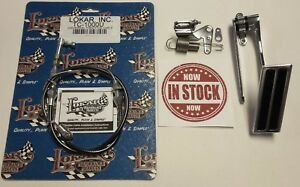 Carburetor Bracket Gas Pedal Assembly Lokar Tc 1000u Throttle Cable Hot Rod