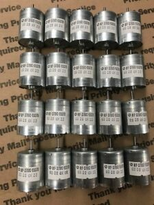 Lot Of 20 Rf 370c 15370 12vdc Motors 5 600 Rpm More Lots Available