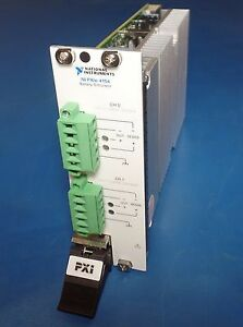 National Instruments Ni Pxie 4154 Battery Programmable Simulator