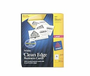 Ave5870 Avery Clean Edge Business Card