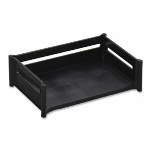 Rubbermaid Mega Stackable Tray 4 1 2 h Cap 9 x12 7 8 x5 9 16 black Sold