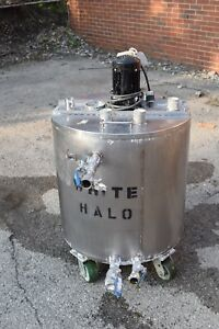 25 Gallon Water Jacketed Stainless Steel Mixing Tank