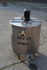 30 Gallon Water Jacketed Stainless Steel Mixing Tank