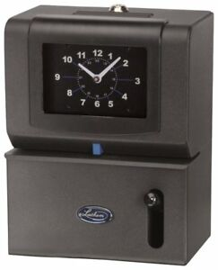 Lathem Heavy duty Manual Time Clock For Day Of Week Hour 1 12 And Minutes