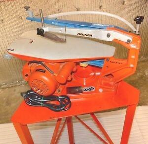 Hegner Multimax 2 Universal Precision Saw With Stand 1983
