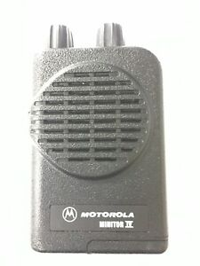 New Motorola Minitor Iv 4 Pager Vhf Low Band 33 49 Mhz 4 channel A01kus7239ac