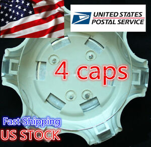 4pcs 139mm Wheel Center Logo Hub Cap Covers Shell For Prado Lc120 Fj120 03 09