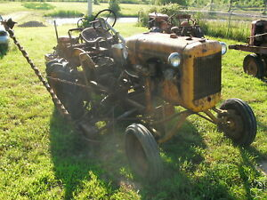 Allis Chalmers B Tractor Two Tractors One Money
