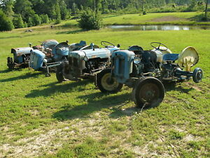 Fordson Dexta 2000 Tractor Four Tractors One Money