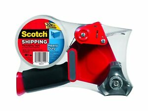 Scotch Heavy Duty Shipping Packaging Tape With Heavy Duty Dispenser 1 88