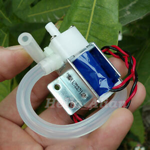 Dc 12v Mini Electric Solenoid Valve N o Normally Open Mini Water Air Valve tube