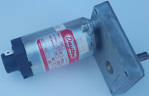 Dayton 12v Dc Gear Motor 50rpm 1 90hp 10in torque 1100 ma Model 4z840 New
