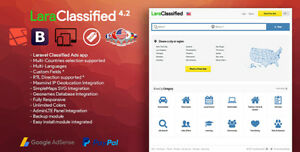 Laraclassified Geo Classified Ads Cms