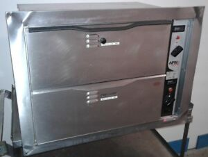 Built In Apw Wyott Hdd 2 Warming Cabinet W 2 Drawers